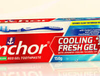 Anchor Red Gel Toothpaste 150g.