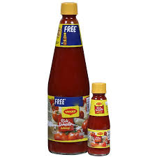 Maggi Tomato Ketchup 1Kg Bottle + Free ketchup bottle worth Rs. 60