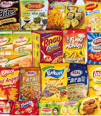 Snacks and Packets (નાસ્તા અને પેકેજ ફુડ)