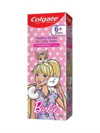 Colgate Anticavity Kids Barbie Toothpaste (6+ years), Strawberry flavour – 80g