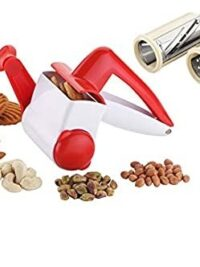 2 in 1 Multi Purpose Rotary Drum Dry Cheese Grater Fruit Slicer