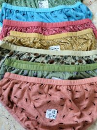 Printed Ladies Panty (7 Colours ) Size 32