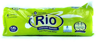Rio Sanitary Napkins XL (7 Pcs Pack )